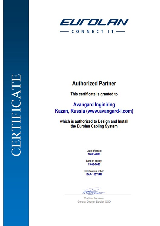 Authorized eurolan partner